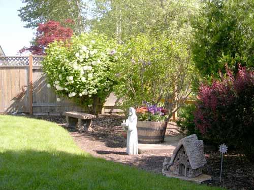 Sanctuary Garden Eugene Oregon